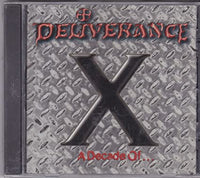 Deliverance ‎– X A Decade Of... (*NEW-CD, 1994, Intense)