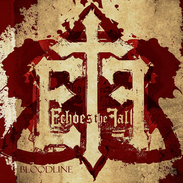 ECHOES THE FALL - BLOODLINE (Pre-owned CD, 2009) Rare Christian rock ala RED, Thousand Foot Crutch