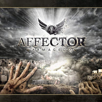 AFFECTOR - HARMAGEDDON (*Pre-Owned CD, 2012, InsideOut) Prog metal Neal Morse band