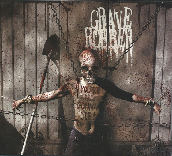 GRAVE ROBBER - YOU'RE ALL GONNA DIE (*NEW-CD, 2007, Rottweiller) horror punk metal