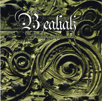 Bealiah ‎– Anthology Of The Undead (*NEW-CD, 2008, Bombworks) Elite primitive Christian Black Metal