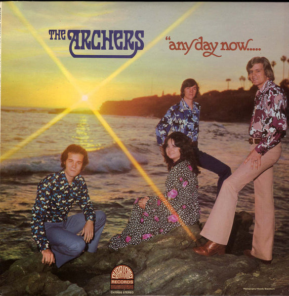 The Archers ‎– Any Day Now...We'll Be Going Home (*Used-Vinyl, 1972, Charsma) Early Jesus Music CCM!