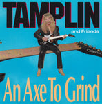 KEN TAMPLIN & FRIENDS - AN AXE TO GRIND (*Pre-Owned-CD, 1990, Intense) Original Issue