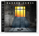 BARREN CROSS - RATTLE YOUR CAGE + Trading Card (*NEW-CD + Vinyl Bundle, 2021, Retroactive) *PRE-ORDER