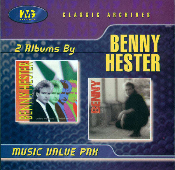Benny Hester ‎– Perfect / United We Stand Divided We Fall (*NEW-CD, 1998, KMG)