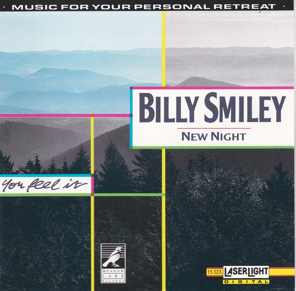 BILLY SMILEY - NEW NIGHT (*Used-CD, 1990, Laserlight) White Heart