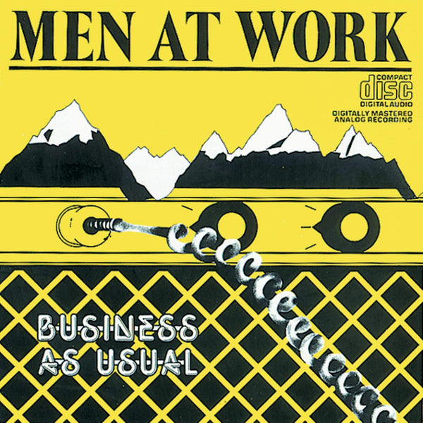 Men At Work ‎– Business As Usual (*Used-CD, 1984) Classic 80's
