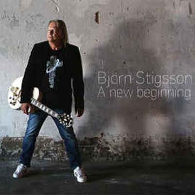 BJORN STIGSSON - A NEW BEGINNING (Leviticus and XT Guitarist) CD