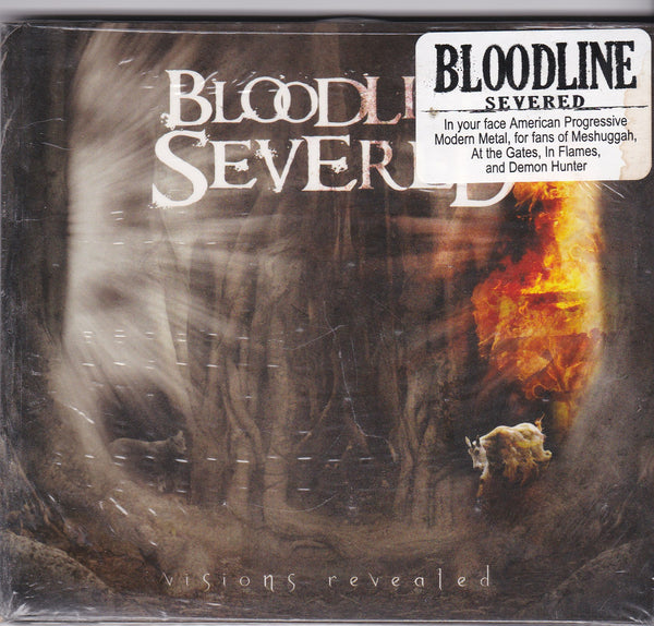 BLOODLINE SEVERED - VISIONS REVEALED (*NEW-CD, 2009, Bombworks)