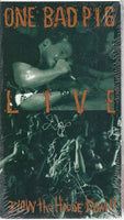 ONE BAD PIG - LIVE BLOW THE HOUSE DOWN *NEW-VHS TAPE, 1992, Myrrh) Epic Cornerstone Performance
