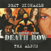 Bret Michaels ‎– A Letter From Death Row (The Album) (*Used-CD, 1998) Poison lead singer solo
