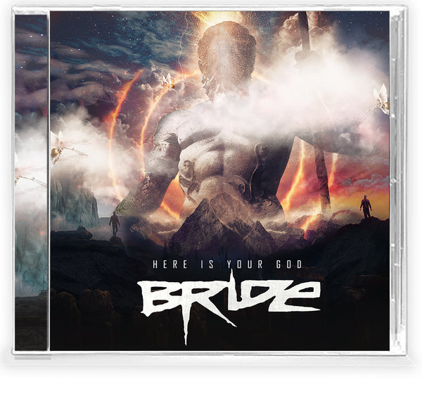 BRIDE - HERE IS YOUR GOD (*NEW-CD, 2021, Retroactive Records) Fiery vocals and guitar wizardry - classic Bride at their best