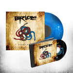 BRIDE - SNAKE EYES (*NEW-CD + VINYL Marbled Blue Bundle, 2018, Retroactive Records)
