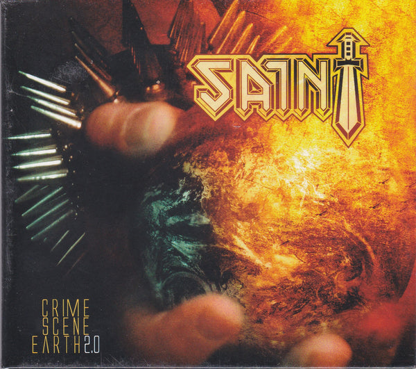 SAINT - CRIME SCENE EARTH 2.0 (*NEW-CD, 2008, Retroactive)