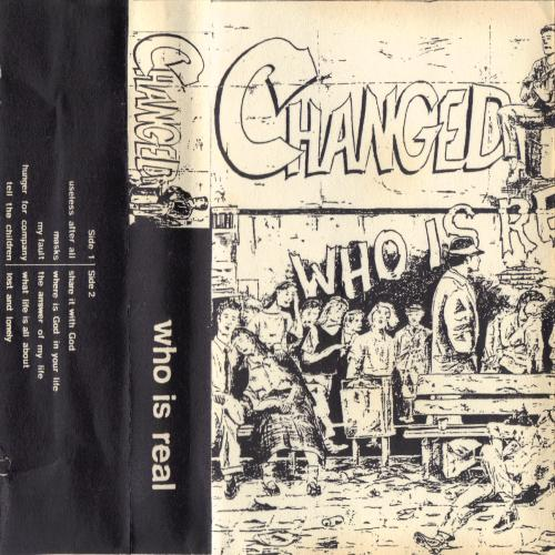 CHANGED-WHO IS REAL 1989 DEMO TAPE AOR/METAL for fans of early Barnabas