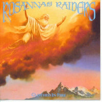 ROSANNA'S RAIDERS - CLOTHED IN FIRE (*NEW-SEALED, VINYL,1989, Refuge) Xian Metal