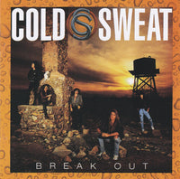COLD SWEAT - BREAK OUT (*NEW-CD, 2018, 20th Century Music) featuring Marc Ferrari of Keel