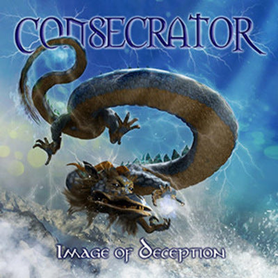 CONSECRATOR - IMAGE OF DECEPTION (*NEW-CD + DVD, 2017, Roxx Records) Metallica-styled THRASH!
