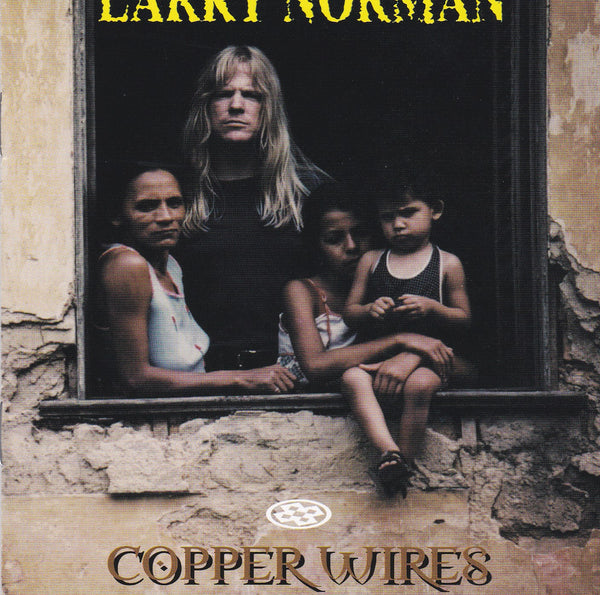 LARRY NORMAN - COPPER WIRES (NEW-CD, 1999, Spark Music)