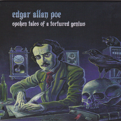 TED KIRKPATRICK - EDGAR ALLAN POE:  SPOKEN TALES OF A TORTURED GENIUS (Tourniquet Drummer)