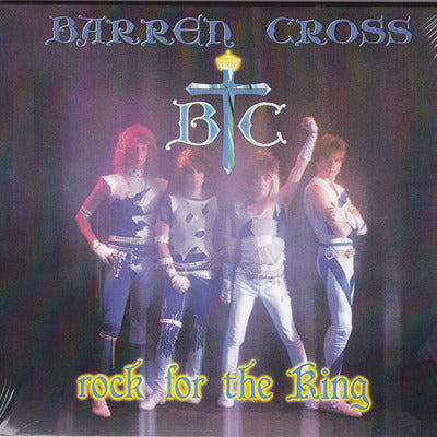BARREN CROSS - ROCK FOR THE KING (*NEW-CD, 2014 Remastered Digipak)