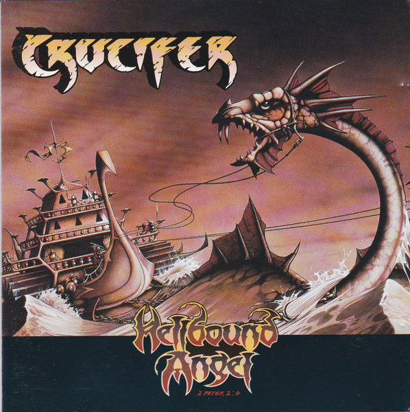 CRUCIFER - HELLBOUND ANGEL (*Used-CD, 1993, Meltdown Records) Classic Metal UK Import