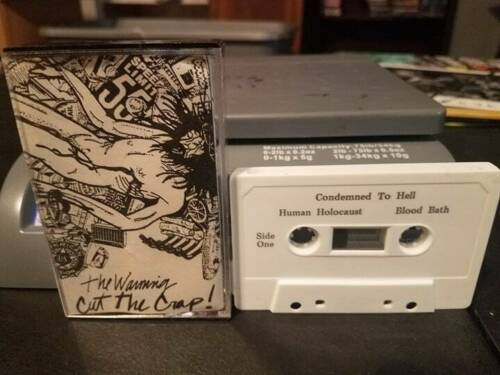 THE WARNING - CUT THE CRAP *XIAN METAL DEMO TAPE (uncensored version)