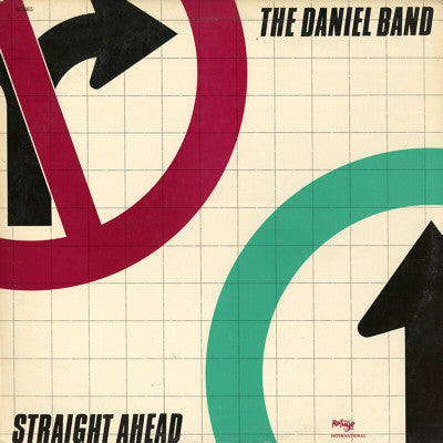 DANIEL BAND - STRAIGHT AHEAD (*Used-Vinyl, 1983, Refuge)