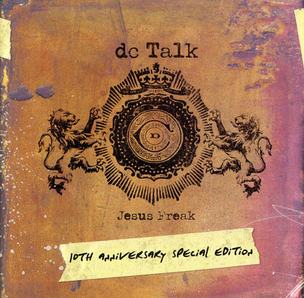 DC TALK - JESUS FREAK (10th Anniversary Special Edition) (*NEW 2-CD Set, 2006, ForeFront)