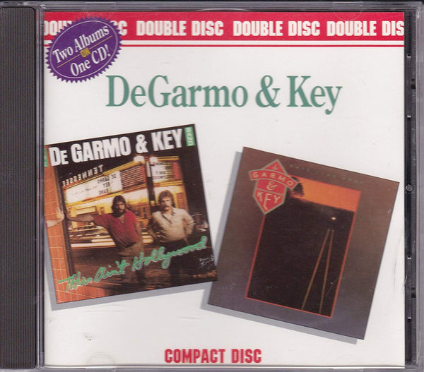 DeGarmo & Key ‎– This Ain't Hollywood / This Time Thru (*Used-CD, 1989, ForeFront) 2 albums on 1 CD!