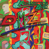 RESURRECTION BAND - DMZ (*Pre-Owned-CD, 1991, Light) *Original Issue jewel case
