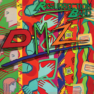 RESURRECTION BAND - DMZ (2005, Retroactive) CD Jewel Case