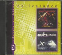 DELIVERANCE - WHAT A JOKE + STAY OF EXECUTION (*NEW-CD, 2000, KMG) Two albums on one CD
