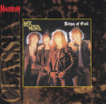 DARK WIZZARD - REIGN OF EVIL (*NEW-CD, 1994, Mausoleum Records) Import 80's Heavy Metal Reissue