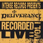 Deliverance ‎– Intense Live Series Vol. 1 (*NEW-CD, 1993, Intense)