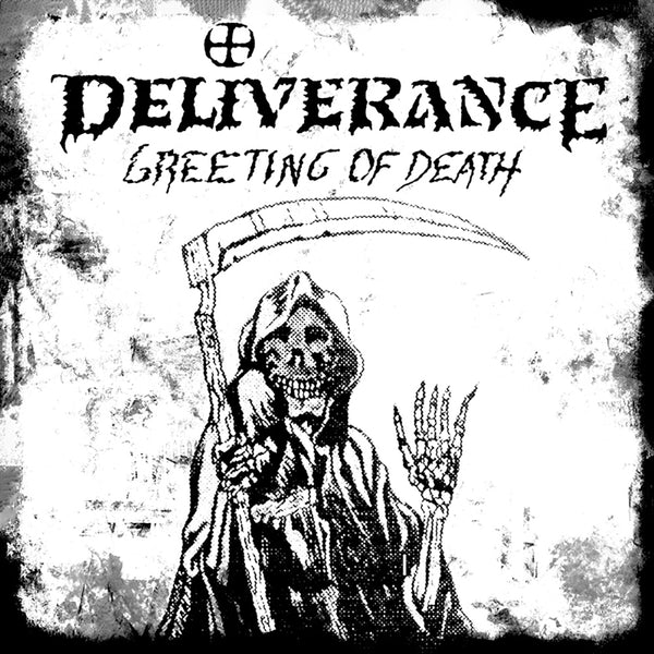 DELIVERANCE - GREETING OF DEATH (*NEW-CD, 2019, Retroactive Records)