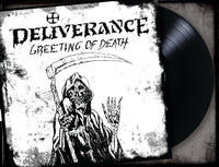 "DELIVERANCE - GREETING OF DEATH (*NEW-12"" VINYL, 2019, Retroactive)"