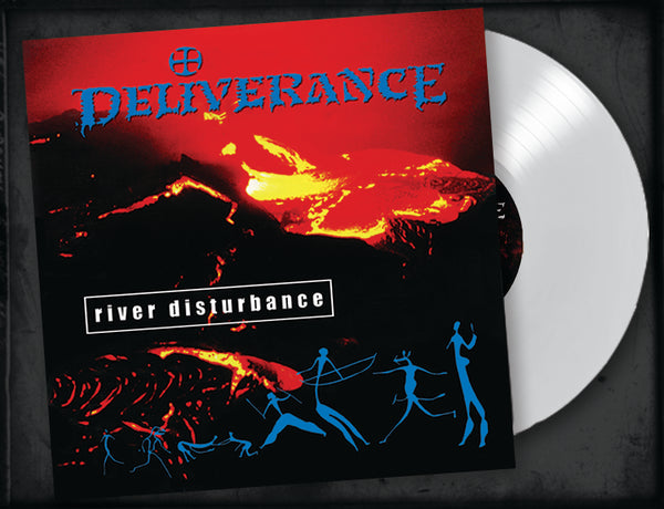 DELIVERANCE - RIVER DISTURBANCE (Legends Remastered) (*NEW-White Vinyl, 2018, Retroactive Records)