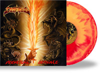DETRITUS - PERPETUAL DEFIANCE (*NEW-FIRE SPLATTER VINYL, 2020, Retroactive) Classic Metallica-styled Thrash to perfection