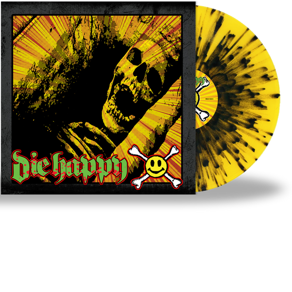 DIE HAPPY - DIE HAPPY (SPLATTER VINYL) (2020, Roxx Records)