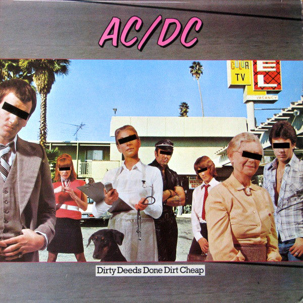 AC/DC ‎– Dirty Deeds Done Dirt Cheap (*Used-CD, 1976, Atlantic)