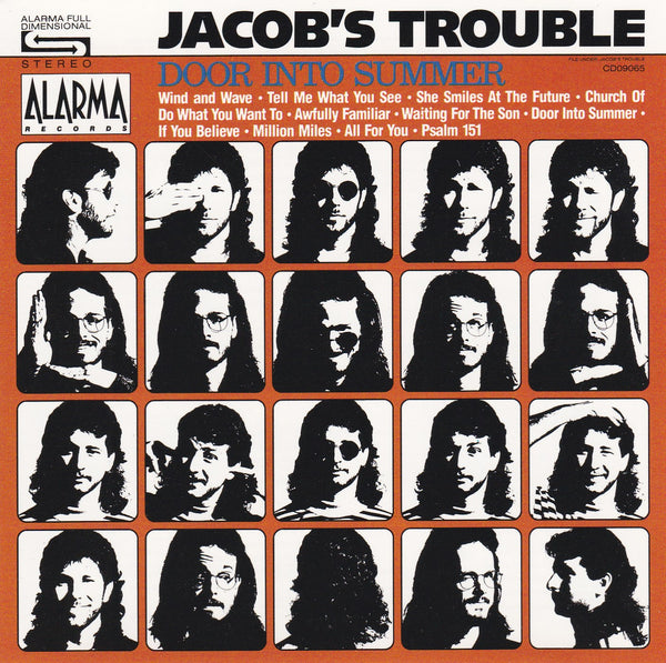 JACOBS TROUBLE - DOOR INTO SUMMER (*Used-CD, 1989, Alarma) Terry Taylor Produced