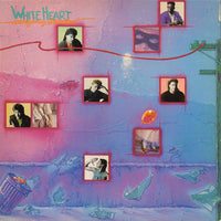 WHITEHEART - EMERGENCY BROADCAST (*Used-Vinyl, 1987, Sparrow)