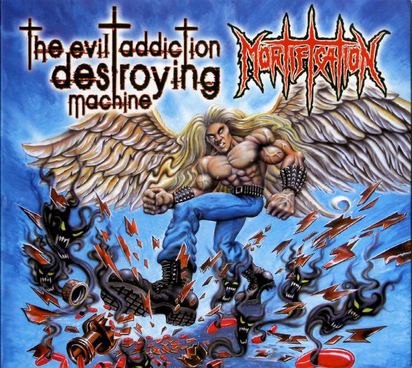 MORTIFICATION - EVIL ADDICTION DESTROYING MACHINE (*NEW-CD