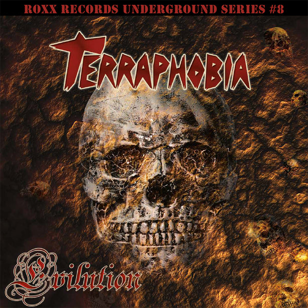 TERRAPHOBIA - EVILUTION (*NEW-VINYL, 2018, Roxx Records)