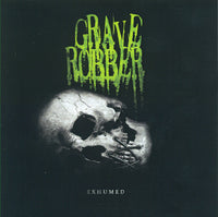 GRAVE ROBBER - EXHUMED (*NEW-CD, 2011, Rottweiler) horror punk metal
