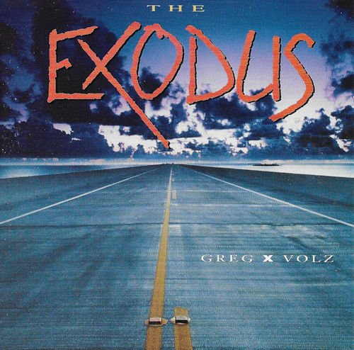 GREG X VOLZ - EXODUS (*Used-CD, 1991, River Records)