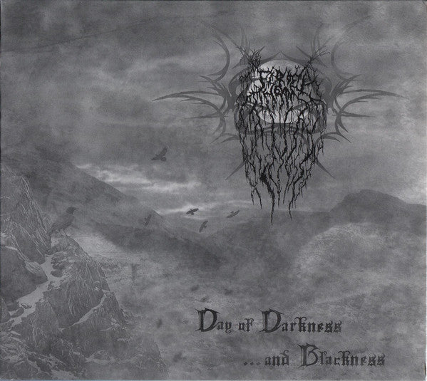 FIRE THRONE - DAY OF DARKNESS...AND BLACKNESS (*NEW-CD, 2008, Nokternal Hemizphear) elite harsh Christian Black Metal