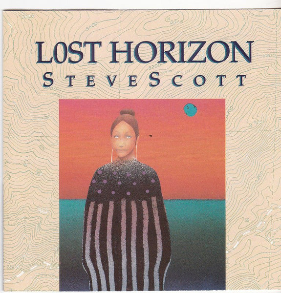 STEVE SCOTT - LOST HORIZON (*Used-CD, 1991, Alternative Records) Mike Roe Produced
