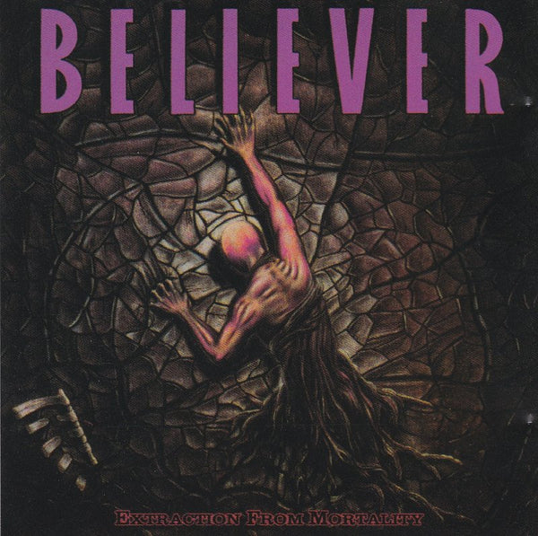 BELIEVER - EXTRACTION FROM MORTALITY (*Used-CD, 2001, M8) 2 bonus tracks